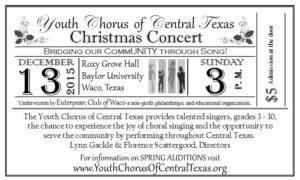11.17 - YCCT Christmas Concert