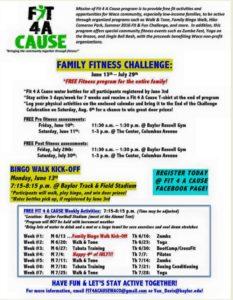 exercise class info
